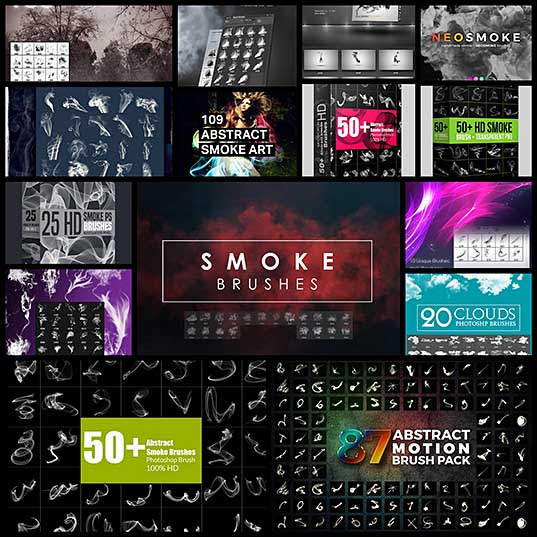 15+ Best Photoshop Smoke Brushes Design Shack