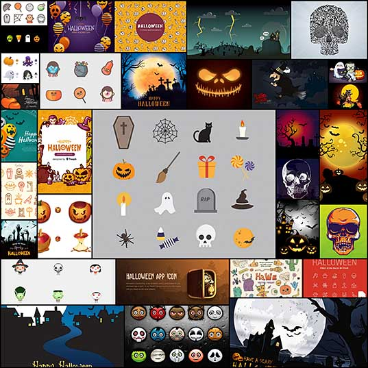 30+ Free Halloween Icon Packs and Vectors 2018 - Hongkiat
