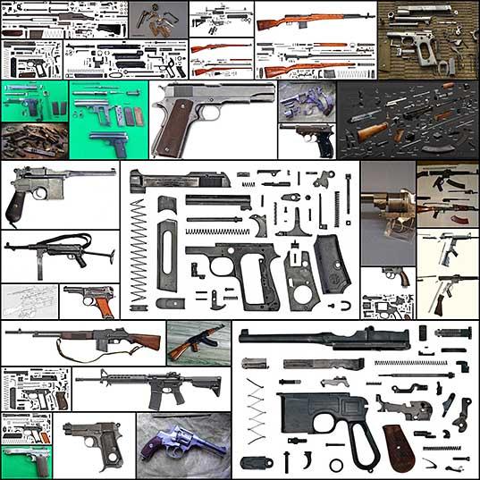Анатомия оружия или оружие в разобранном виде