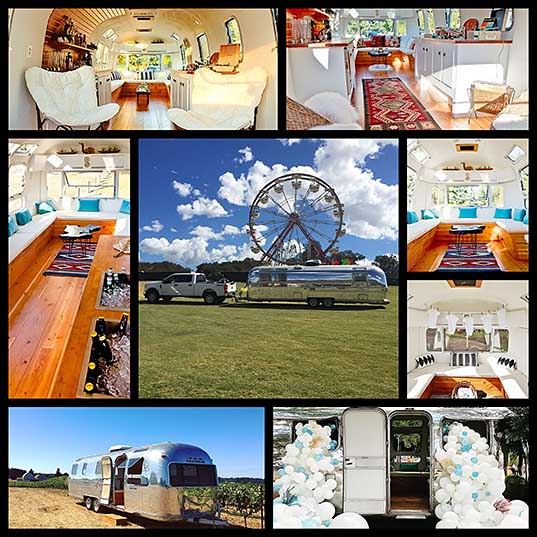 8 You Can Rent This Refurbished Retro Airstream Trailer For Your Next Groovy Event