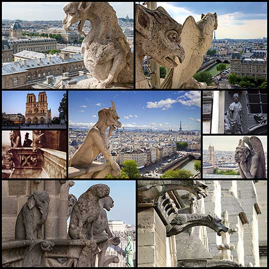 The Enchanting History of Notre Dame Cathedral's Famous Gargoyles and Grotesques