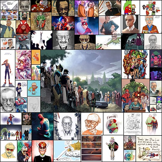 30+-Artists'-Tributes-To-Late-Comic-Book-Legend-Stan-Lee--Bored-Panda