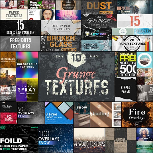 100-Free-Photoshop-Overlays-and-Textures