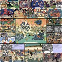 19世紀に描かれたネコや獣を擬人化した日本画がすごい!!33