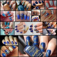 17-Beautiful-Blue-and-Gold-Nail-Art-Designs