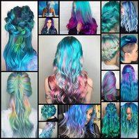 Mermaid Hair Trend Has Women Dyeing Their Hair Into Magical Sea-Inspired Masterpieces - My Modern Met
