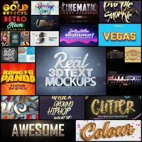 Best Resources of 2017 Photoshop Text Effects & Layer Styles