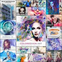 20 Cool Photoshop Watercolor Effects & Filters With Texture