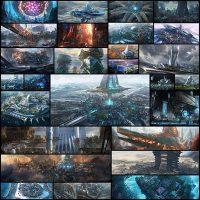 27 честных иллюстраций, которые показывают как могут выглядеть города будущего