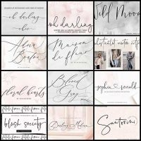 12 Stunning Handwriting Fonts To Spice Up Your Projects FOTW#5 - Web Design Ledger